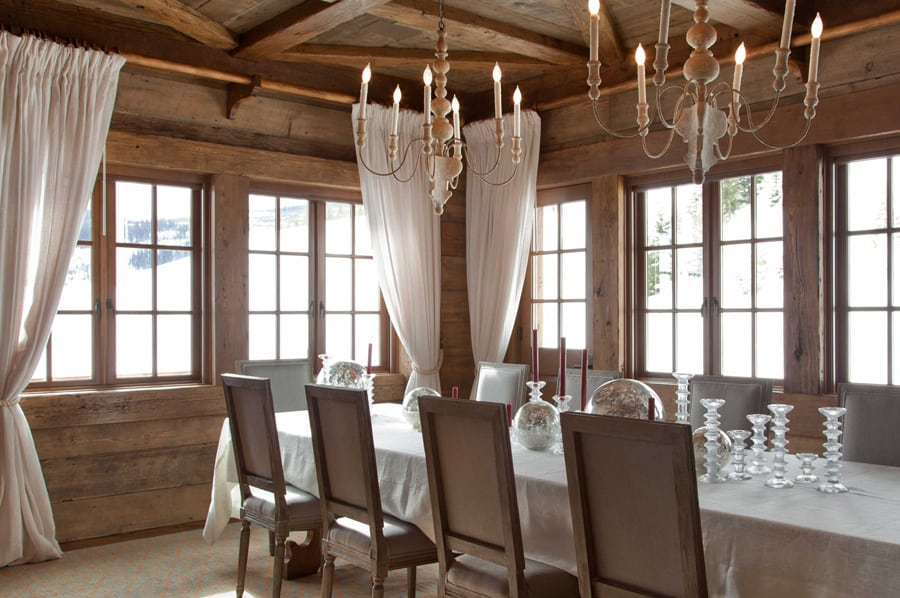 View In Gallery Rustic Chic Revival In Classic Cabin With Eclectic . The Dining  Room ...
