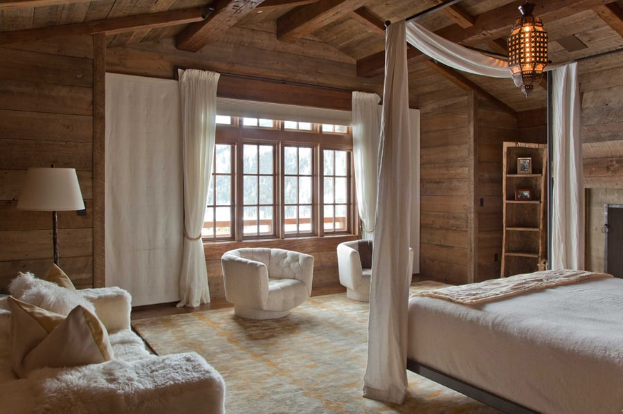 View In Gallery Rustic Chic Revival Classic Cabin With Eclectic