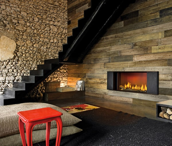 Stone Cladding Fireplace