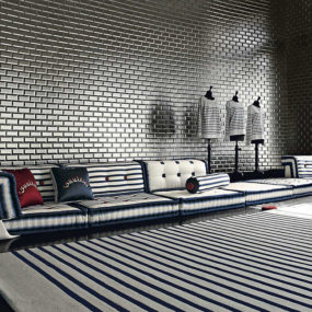 Nautical Themed Living Room Idea by Roche Bobois