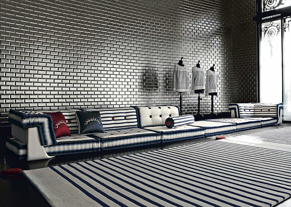 View In Gallery Sailor Mah Jong Modular Sofa From Roche Bobois 1 Thumb  630x448 8701 Nautical Themed Living Room Part 70