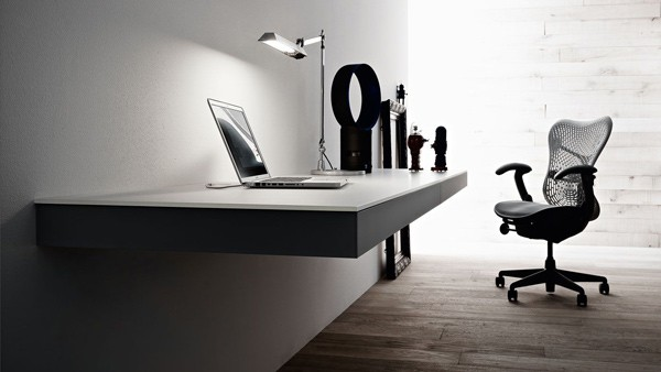 simple home office. Simple Home Office Design Ideas Wall Mounted Laptop Desk Valcucine 1 S