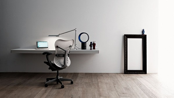 simple home office design ideas wall mounted laptop desk by valcucine - Simple Home Office