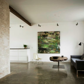 Simple Studio Home Design: Artist's Space in Denmark
