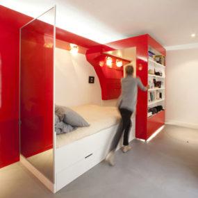 Smart Apartment Design Solutions by Coudamy Design