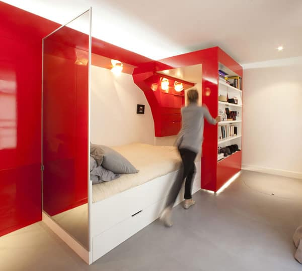 10 Small House Interior Design Solutions: Smart Apartment Design Solutions By Coudamy Design