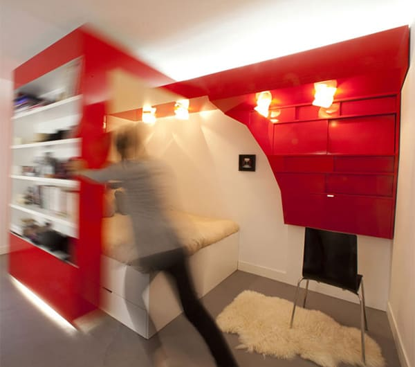 smart apartment design solutions coudamy design 3 Smart Apartment Design Solutions by Coudamy Design