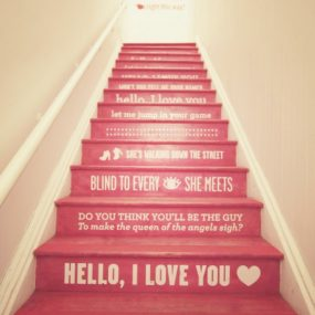 Stair Riser Decor Ideas