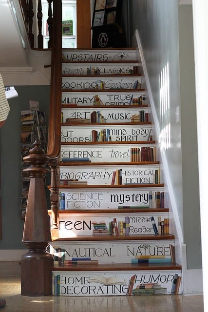 Stair Riser Decor Ideas 3