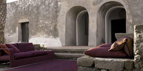 Stone Patio Furniture Ideas Paola Lenti 2