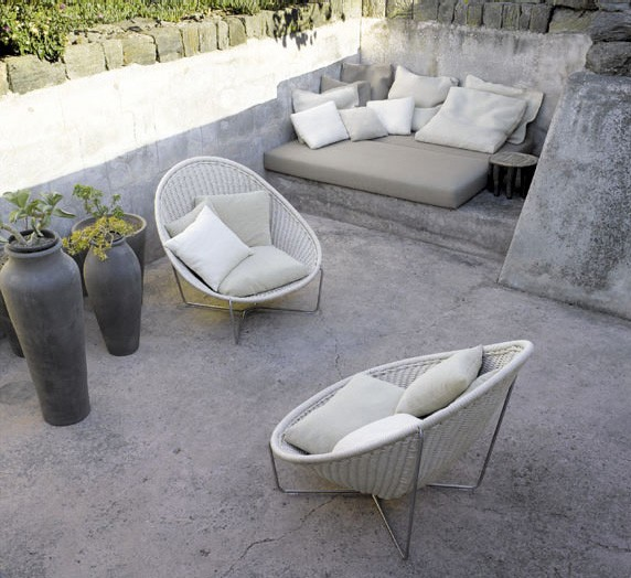 Stone Patio Furniture Ideas Paola Lenti Stone Patio Furniture Idea Making  Stone Or Concrete Patio Cozy