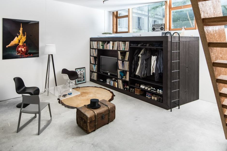 Storage Solution For Small Apartments - The Living Cube by Till ...