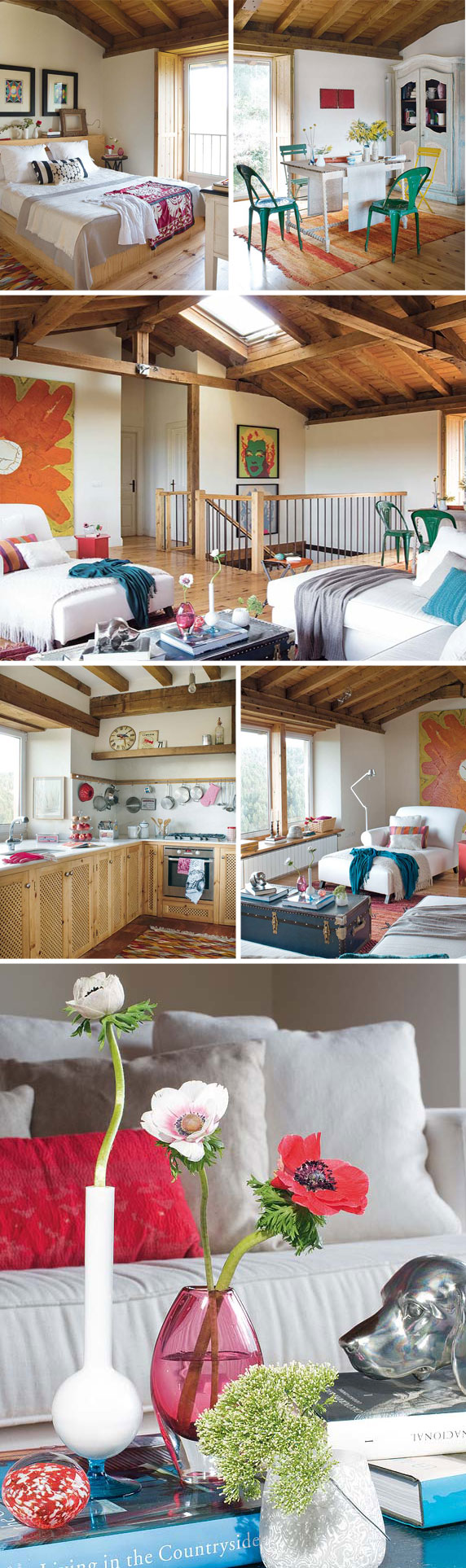 summer cottage decorating ideas colors wood 2