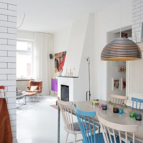 Sunny and Tastefully Renovated Swedish Apartment