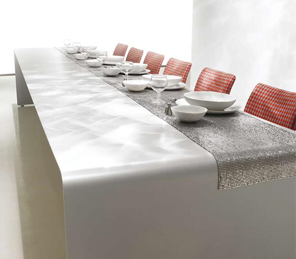 tabletop idea mdf italia Modern Dining Table Decorating Idea by MDF Italia