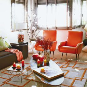 Tangerine Tango In Home Decor – Pantone Color of the Year