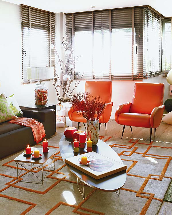 View In Gallery Tangerine Tango In Home Decor 1 Tangerine Tango In Home  Decor Pantone Color Of The Year