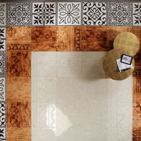 Tile Floor Decorating Ideas and Designs by Fap