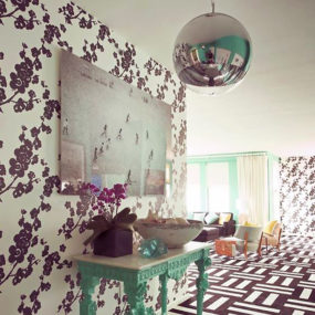 Interior Decorating with Wallpaper – outside the box ideas by Novogratz