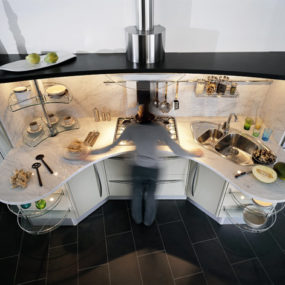 Universal Kitchen Design by Snaidero: 7 ways to increase functionality