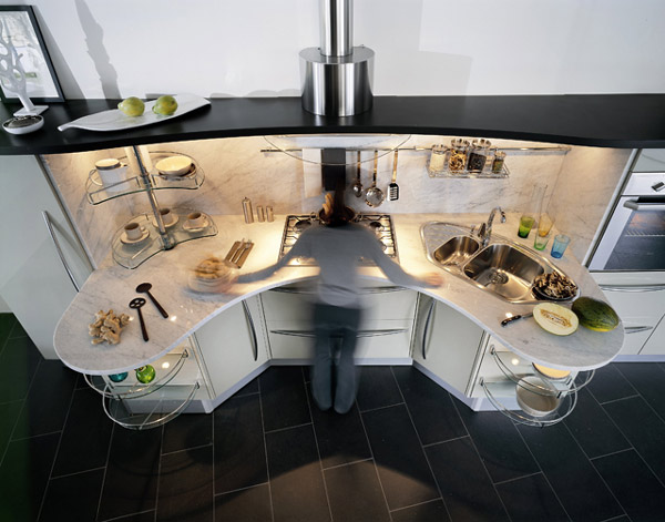 universal kitchen designsnaidero: 7 ways to increase functionality