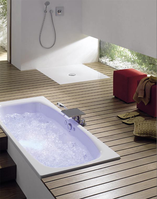 unusual contemporary bathroom design bette Unusual Contemporary Bathroom Design by Bette