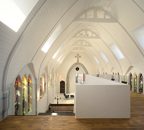 5 unusual interior design converting a church