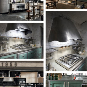 Vintage Style Kitchens by Marchi Group