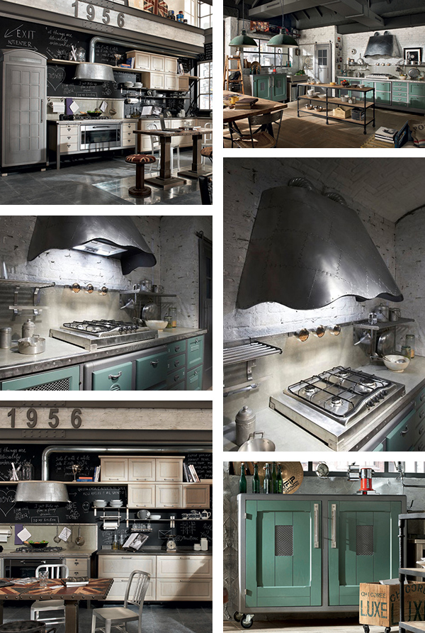 vintage style kitchens marchi cucine Vintage Style Kitchens by Marchi Group