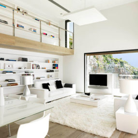White Home Interior Done Right