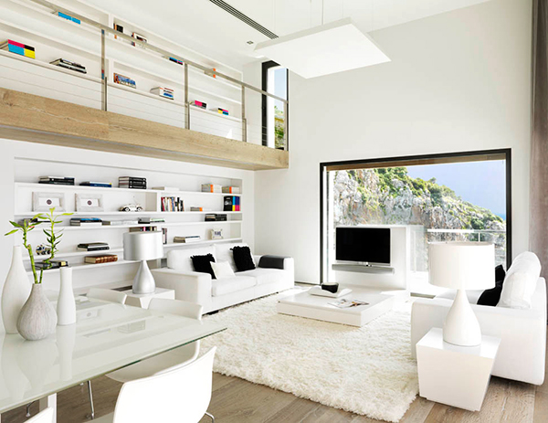 View in gallery white home interior done right 1 White Home Interior Done  Right