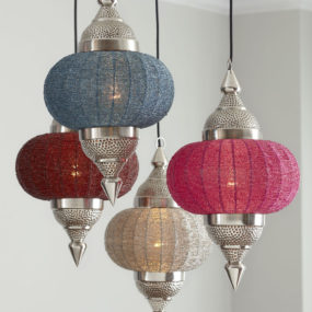 Indian-inspired Manak Pendant Light from Horchow
