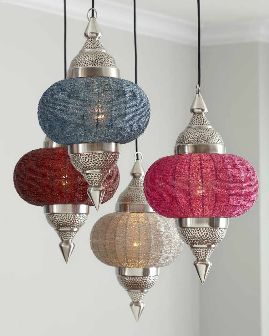 Indian inspired manak pendant light from horchow mozeypictures Choice Image