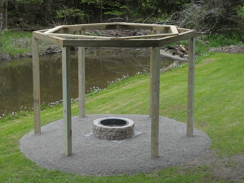 Fantastic Diy Project Porch Swings Around A Campfire