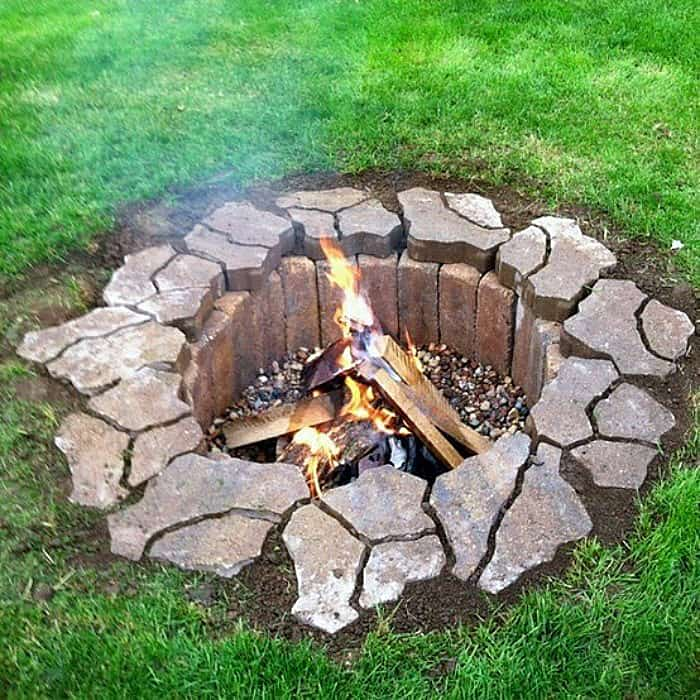Ordinary Stone Fire Pit Designs Part - 9: View In Gallery Submerged-fire-pit.jpg
