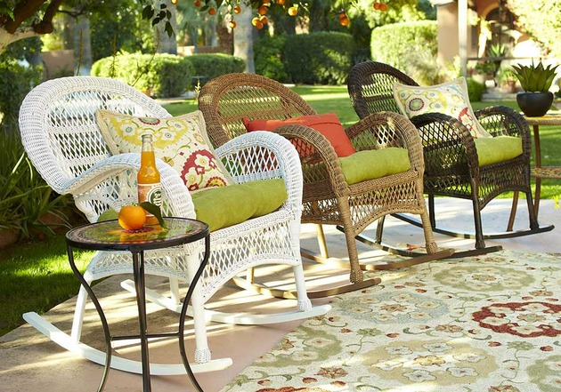 garden decor inspirations by pier1 imports 2 thumb 630x441 8768 Wicker in Colors: Garden Decor Inspirations by Pier1