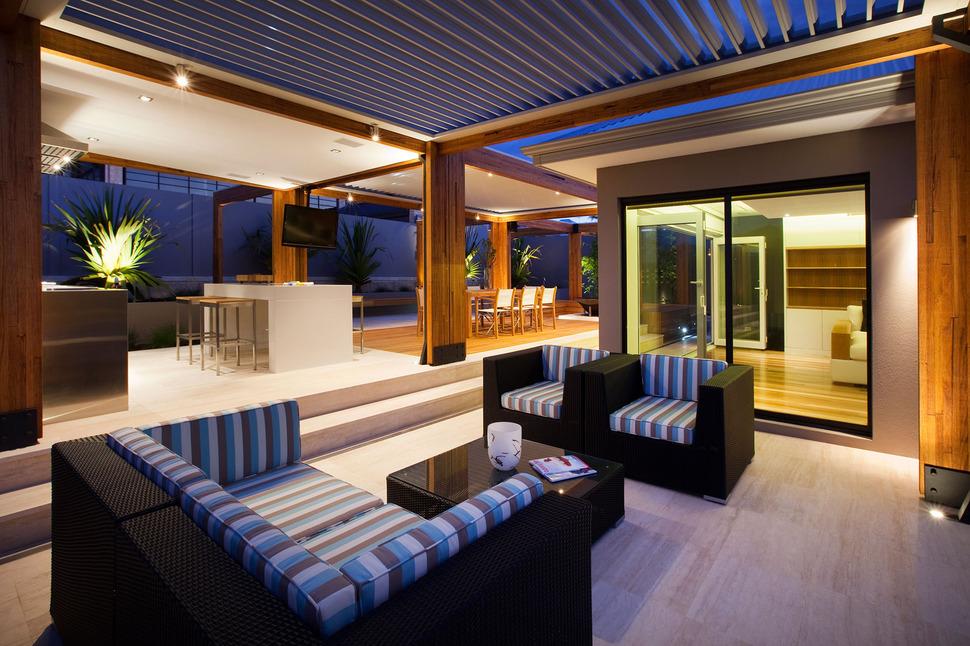 Massively Modern Timber Terraces Extend Australian Home ...