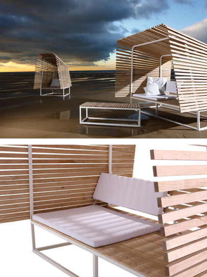 bleu nature illu shelter Eco Friendly Outdoor Shelter from Bleu Nature
