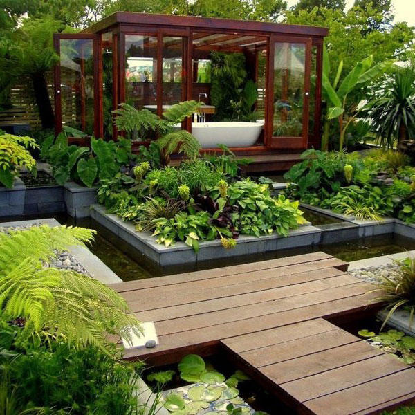 Outdoor Zen Garden Ideas Photograph
