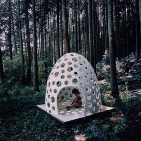 Concrete Shell Structure Eggshell – a concrete pod for all occasions