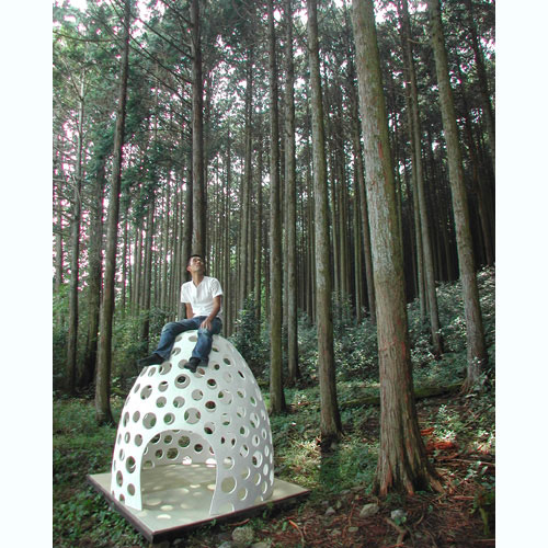 concrete pod 6 Concrete Shell Structure Eggshell   a concrete pod for all occasions