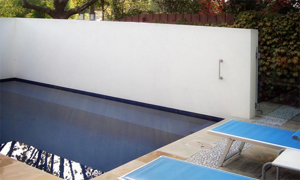 cozy compact modern pool design eckersley garden architecture 2 Cozy Compact Modern Pool Design