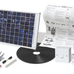 Portable Solar Lighting Kit for Garden or Shed – Solar Mate
