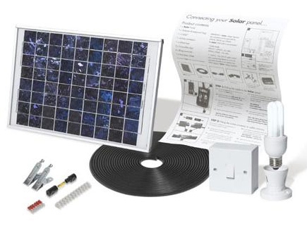 View In Gallery Ecotopia Solar Mate 1 Portable Lighting Kit For Garden Or Shed