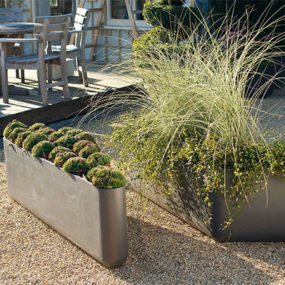 Eco-Smart Contemporary Plant Container from Eternit – D'Art