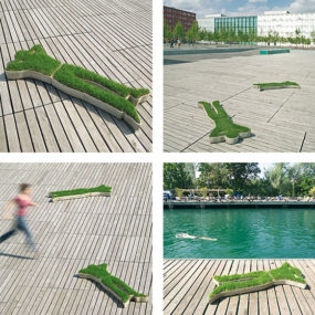 Human Shaped Planter from Eternit – Relax!