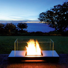 Ethanol Fireplace from Radius Design