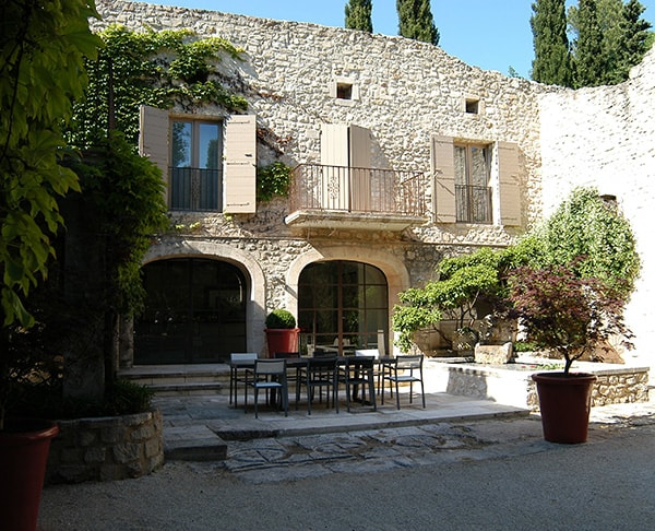 French Style Courtyard