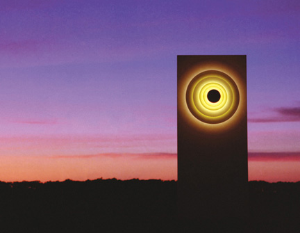 generate concentric lit panel 1 Outdoor Lit Decorative Panel   Concentric and Expansion XL panels