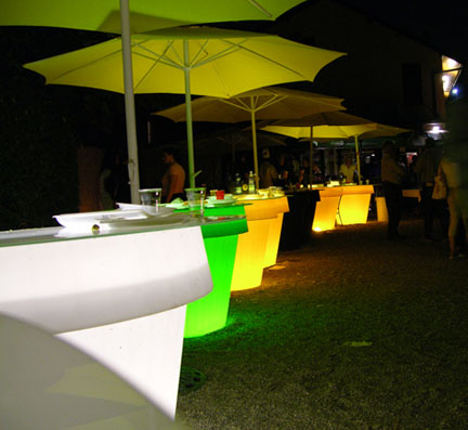 generate gio monster light Outdoor Lit Furniture by Designer Giuseppe Colonna Romano